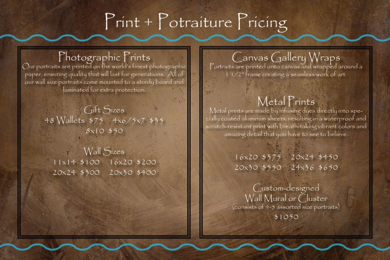 Print& Canvas pricing 2013