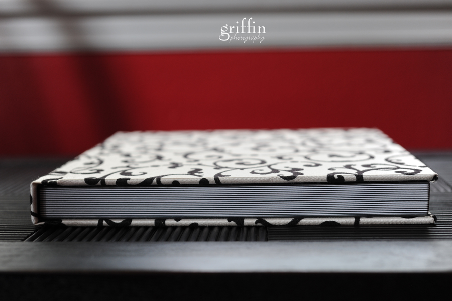 The ONE wedding album by Griffin Photography.