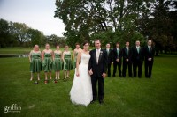 Wedding photographer Griffin Photography at Nakoma Golf Course in Madison.