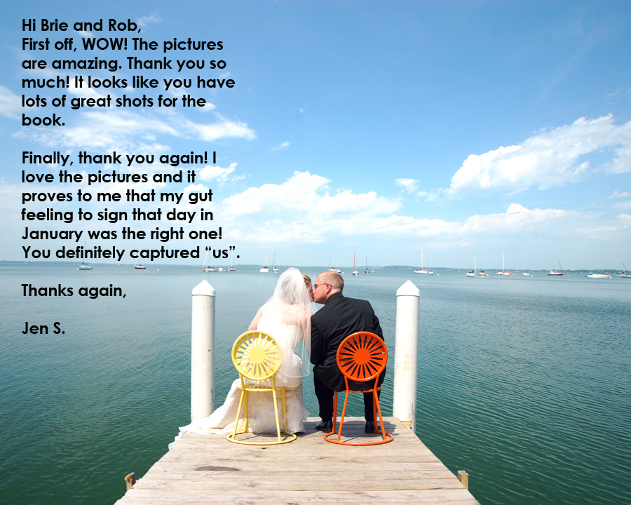 Griffin Photography engagement session testimonial.