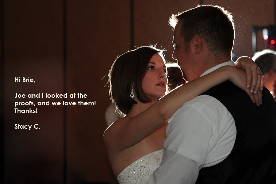 Griffin Photography wedding image love.