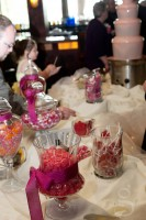 The candy buffet.