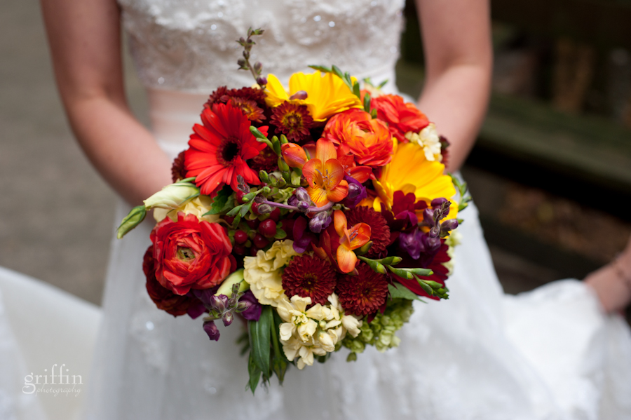 Bridal bouquet from Wild Apples floral in Baraboo WI.