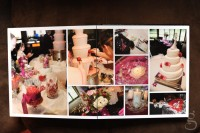 wedding book reception pages.