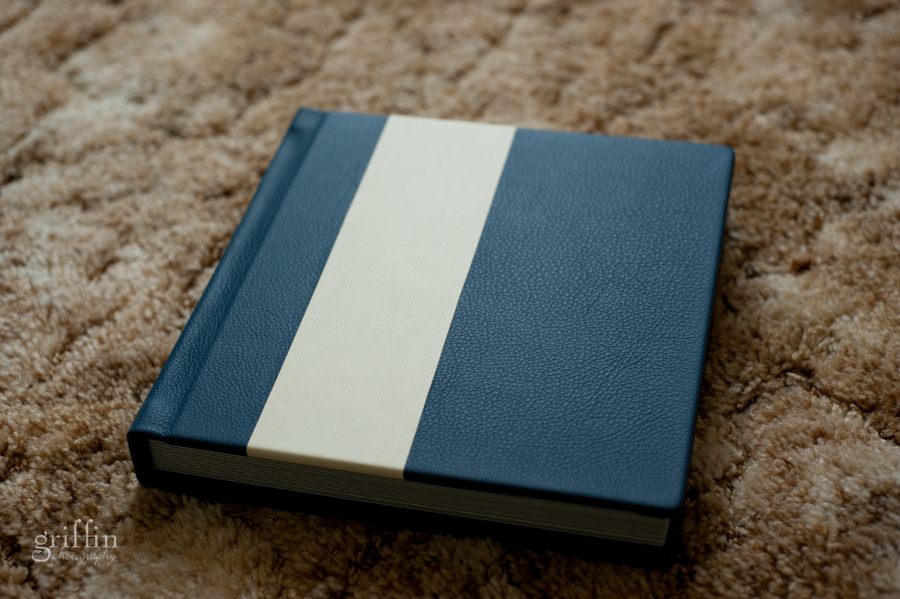 Two tone leather in blue Wedgewood and creamy Opaline, so gorgeous.