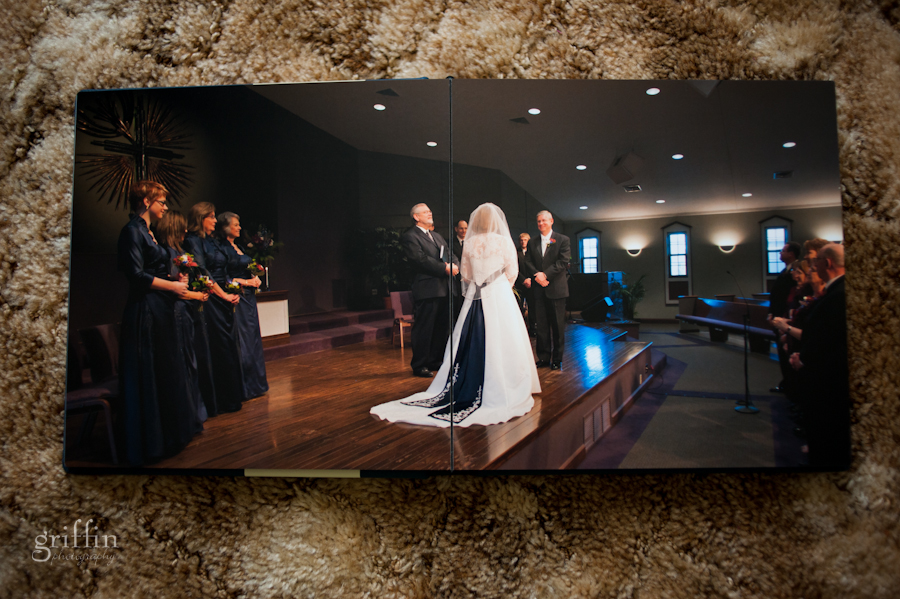 Full page spread in the ceremony.