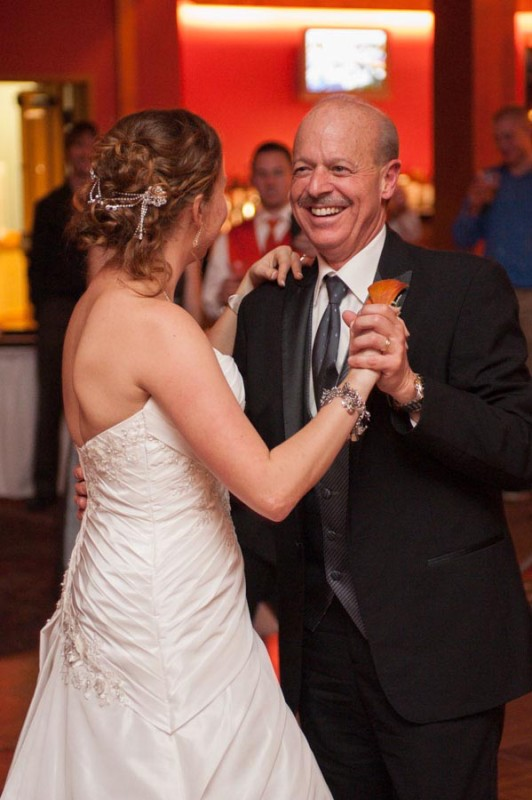 emotional father daughter dance photo
