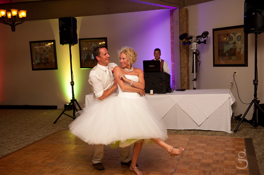 love the exuberant first dance.