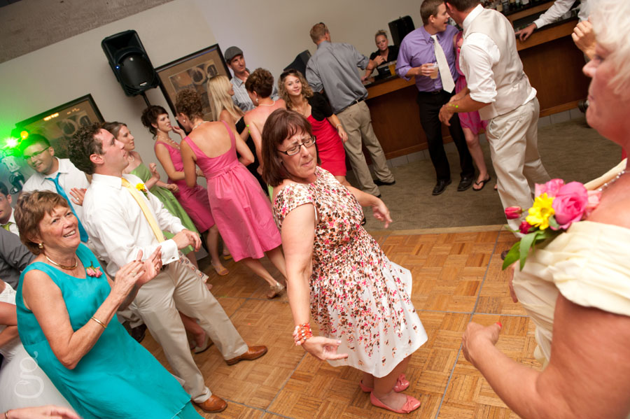 moms on the dance floor.