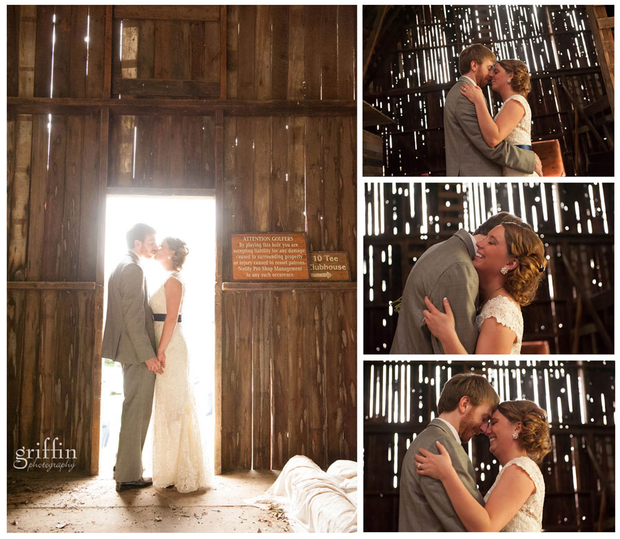 intimate bridal portraits inside the barn
