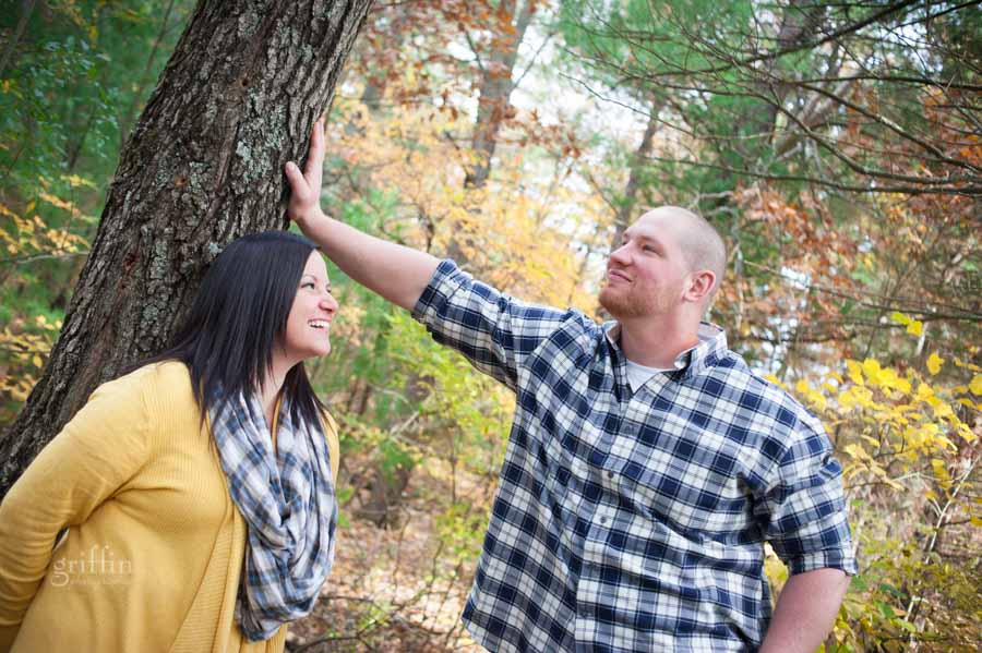 amazingly awesome autumn engagement session