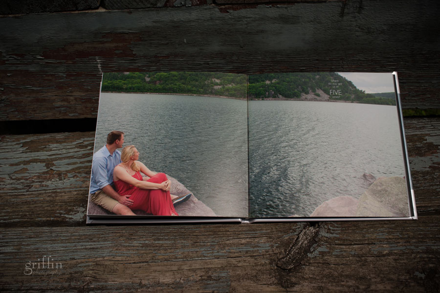 full page spread of Devil's Lake couple.