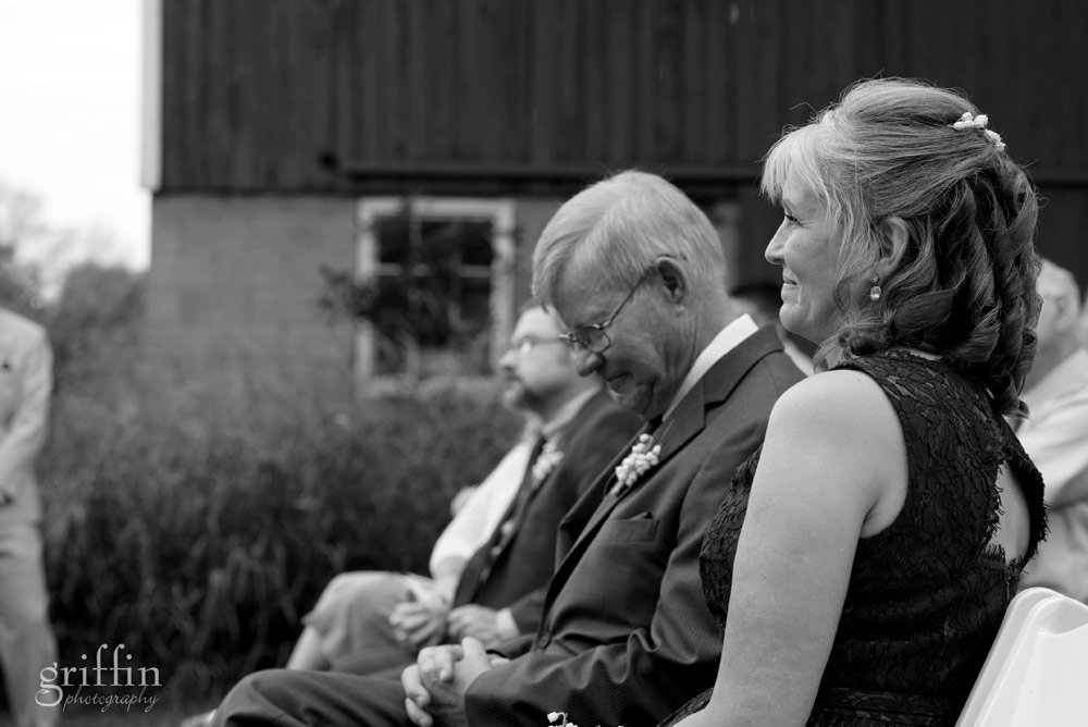 father of the bride with tears in his eyes
