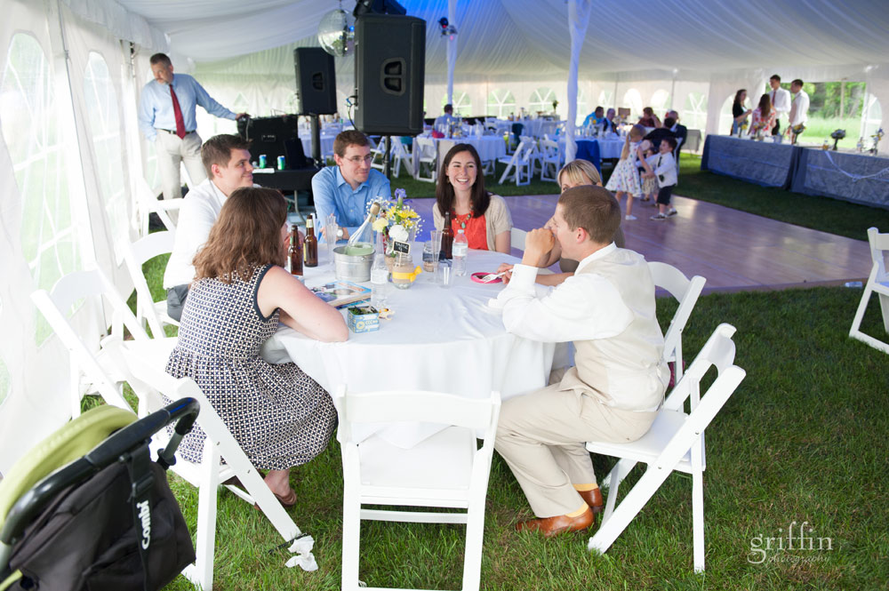 wedding reception chats