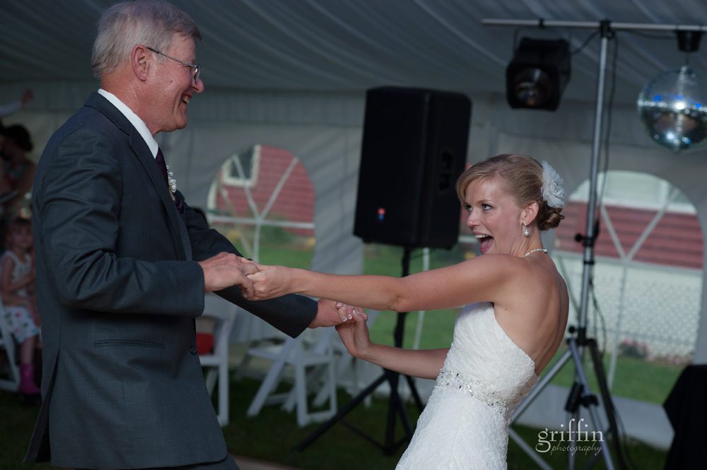swing dancing father of the bride