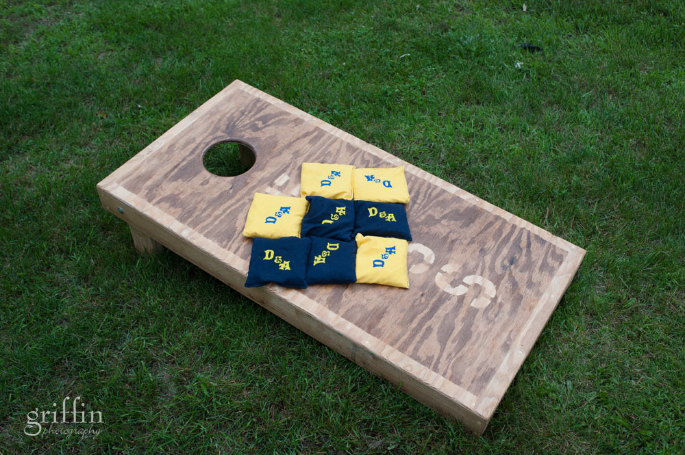 custom backyard toss game