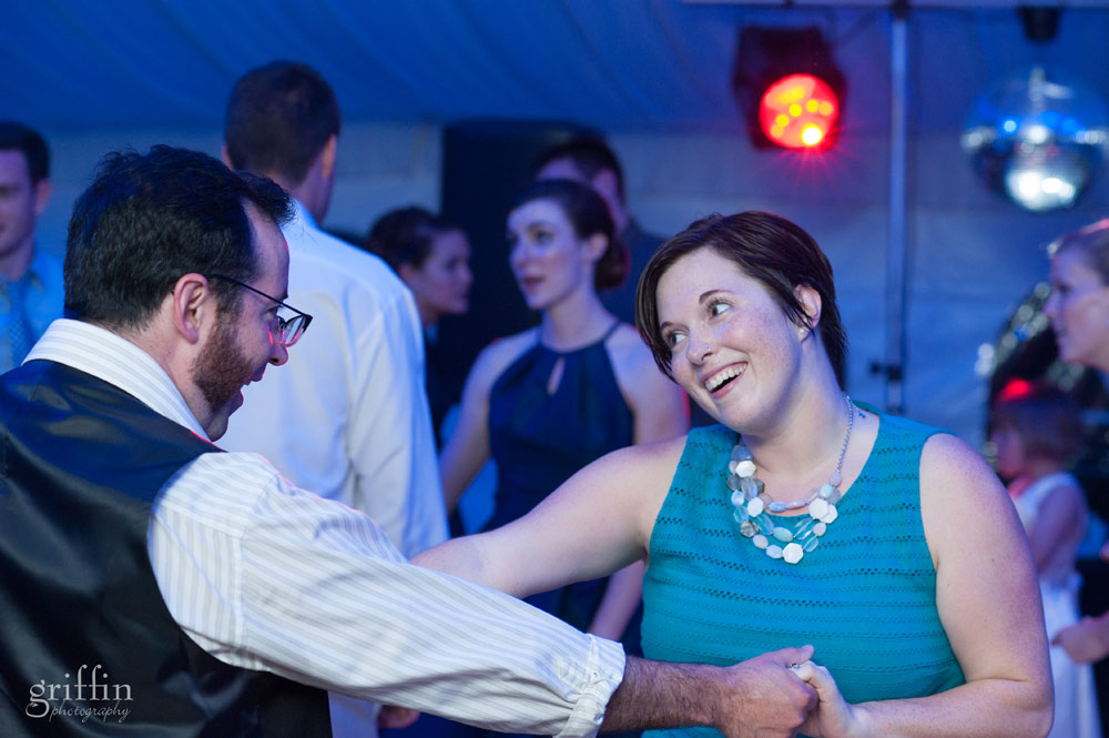 couple in love on the dance floor