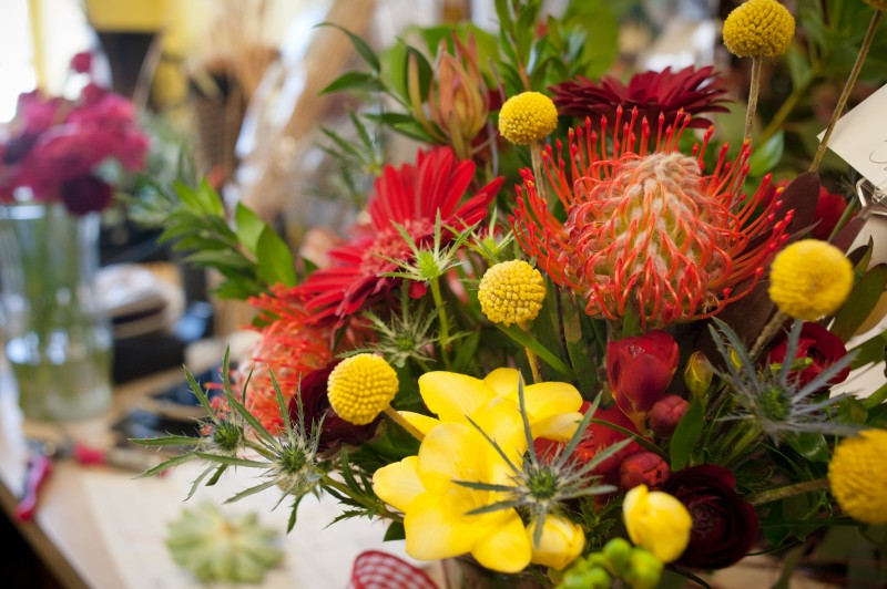 wild apples floral arrangement baraboo florist