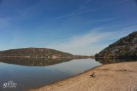 Beautiful autumn day at Devil's lake state park, wi.
