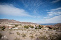 The mountains surrounding Lake Mead in Nevada.