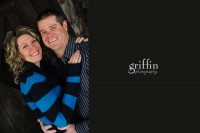 Griffin Photography engagement session at Ochsner's Park, Baraboo Wisconsin.