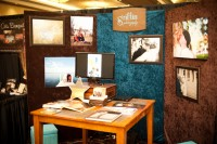 Griffin Photography bridal fair booth at the Once Upon a time bridal fair.